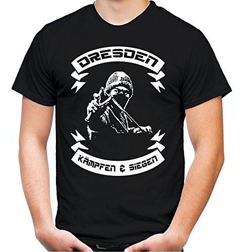 uglyshirt89 Dresden kämpfen & Siegen T-Shirt   Fussball   Ultras   M2 (XXL)