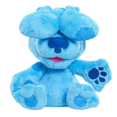 Blue's Clues & You! Peek-A-Blue, Interactive Barking Peek-A-Boo Stuffed Animal, Dog, by Just Play from Just Play