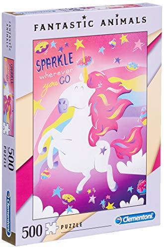 Fantastic Animals Puzzle Unicornio con 500 Piezas, Multicolor (35066.7)