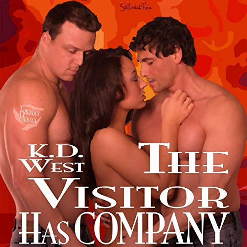 Couverture de The Visitor Has Company: New Adult Menage Romance