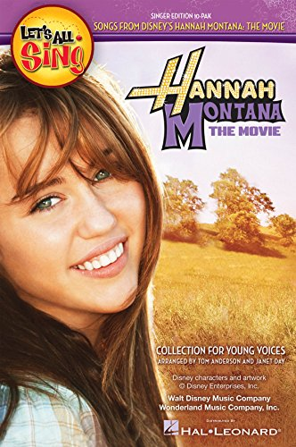 Let's All Sing Songs From Disney's Hannah Montana: The Movie Singer Edition 10-Pak