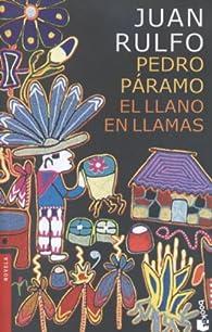 Booket Pedro paramo y el llano en Llamas par Juan Rulfo