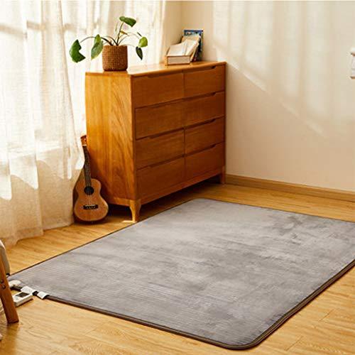 Verwarmingsdeken, slaapkamertapijten, 60 warmte-instellingen, elektrisch verwarmd, moderne tapijten voor multifunctioneel gebruik, tapijten voor de woonkamer in de kinderkamer, eetkamer, kantoor, slaapzaal