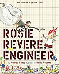 This is the story of Rosie, a young lady that takes absolute junk and makes things. She loves to use canned puffy cheese in her inventions. Everyone laughs at her work- even her uncle, who just happens to be a zookeeper. Check this blog post for a STEM challenge!