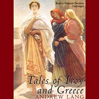 Tales of Troy and Greece audiobook cover art