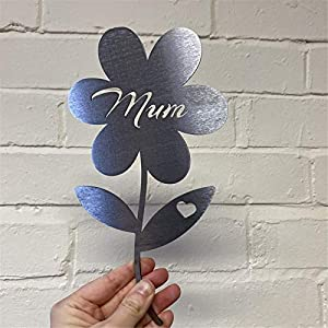 Mum Rose Mother's Day Flower Gift, Rose Rustic Garden Sculpture Decor Ornaments, Flower Garden Sculpture, Best Gift Choice for Mum Thanksgiving Day, Christmas, Birthday, Anniversary