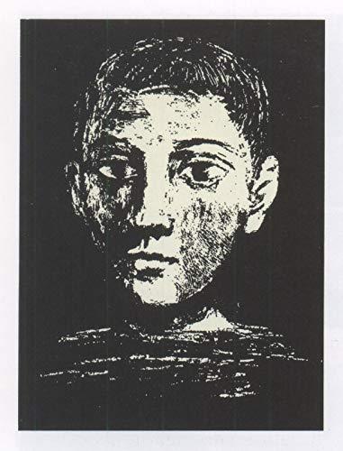 Pablo Picasso Head boy 1945 - Póster de la película de Pablo Picasso - Mejor impresión artística de calidad para decoración de pared de regalo, Canvas A2