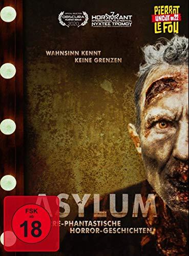 Asylum - Irre-phantastische Horror-Geschichten (Limited Edition Mediabook, + DVD, Cover B) [Blu-ray]