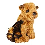 Piutrè Airedale Terrier Puppy Plush Stuffed Animal Handmade in Italy
