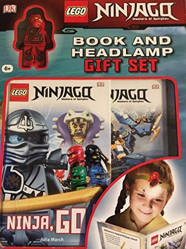 lego Ninjago book and headlamp Gift Set