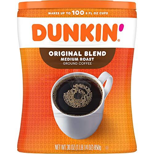 Dunkin Donuts Original Blend medio grado di tostatura del caffè macinato Barattolo 850g