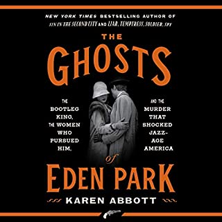 The Ghosts of Eden Park audiobook cover art
