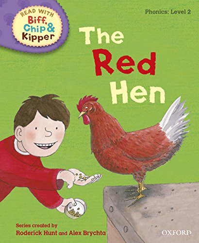 Read with Biff, Chip and Kipper Phonics: Level 2: The Red Hen (English Edition)
