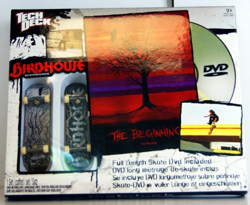 Tech Deck - 22508 - 96 mm Fingerboards - 2 Pack Birdhouse Skateboards & Skate DVD (englisch!) - The Beginning