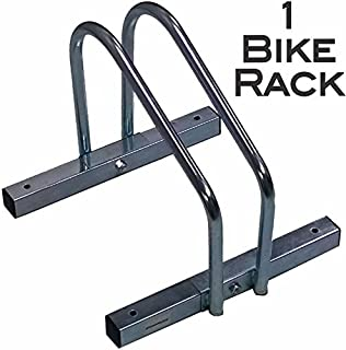 EasyGoProducts EGP-BIK-001 EasyGo Floor Stationary Single Wheel Rack, Indoor – Outdoor Bike Stand, None