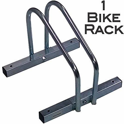 EasyGoProducts EGP-BIK-001 EasyGo Floor Stationary Single Wheel Rack, Indoor  Outdoor Bike Stand