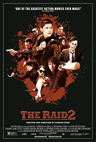 The Raid 2 Berandal Movie Poster 70 X 45 cm