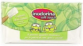 Inodorina Lettiera Vegetale 6 Litri 100/% agglomerante BIODEGRADABILE E COMPOSTABILE per Gatti Piu Omaggio salviette 40 pz clorexidina disinfettanti