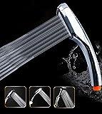 SUCASA 30% Water Saving 300 Holes Bathroom Handheld Shower Head with 300% Turbocharged