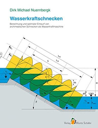 Wasserkraftschnecken: Berechnung und optimaler Entwurf von archimedischen Schnecken als Wasserkraftmaschine