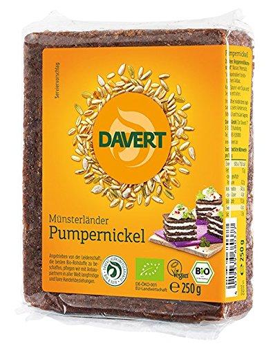 Davert Mühle Bio Münsterländer Pumpernickel (3 x 250 gr)