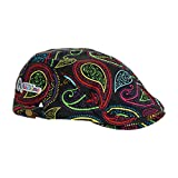 Royal & Awesome Men's Golf Hat, Crazy Paisley, One Size