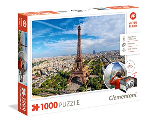 Clementoni - Puzzle Virtual Reality 100 Piezas Paris (39402)