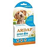 ARDAP Spot On - Zecken & Flohschutz für Hunde unter 10kg - Natürlicher Wirkstoff - Bis zu 12 Wochen...