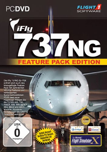 Ifly 737NG Feature Pack Edition for FSX (PC DVD) - [Edizione: Regno Unito]