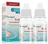 Tratamiento de uñas fúngicas, tratamiento de hongos en las uñas, solución antihongos para las uñas de los pies y las uñas (2 unidades).