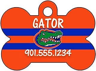 uDesignUSA NCAA Dog Tag Pet Id Tag Personalized w/Name & Number