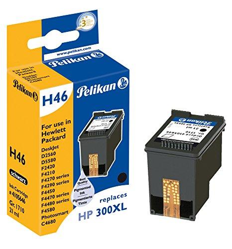 Pelikan H46 Druckerpatrone (ersetzt HP 300XL CC641EE) schwarz