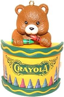 1992 Binney & Smith Crayola Crayons Bear Christmas Tree Ornament