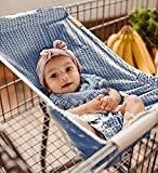 BINXY BABY Shopping Cart Hammock | The Original | Holds All Car Seat Models | Ergonomic Infant Carrier + Positioner...