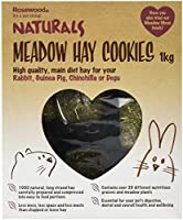 Highest quality, long strand hay compressed in to easy to feed portions for rabbits, guinea pigs, chinchillas and degus Less mess, less space and less waste than loose hay Contains over 20 different nutritious grasses and meadow plants Essential for ...