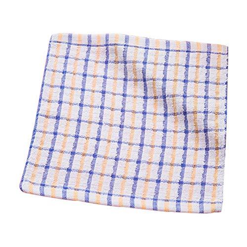 xiahe Tücher (in 3 Stück Erhältlich), Kariertes Baumwollgeschirrtuch, Nicht Fusselndes, Nicht öliges, Saugfähiges Und Wasserabsorbierendes Handtuchreinigungstuch. Material: Baumwolle