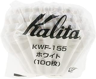 Kalita: Wave Series Wave Filter KWF-155 [1-2 persons] White , 100 sheets # 22213