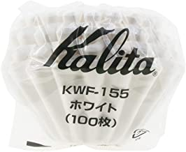 "Kalita"": Series Filter Kwf-155 [1-2 Persons] White 100 Sheets # 22213"