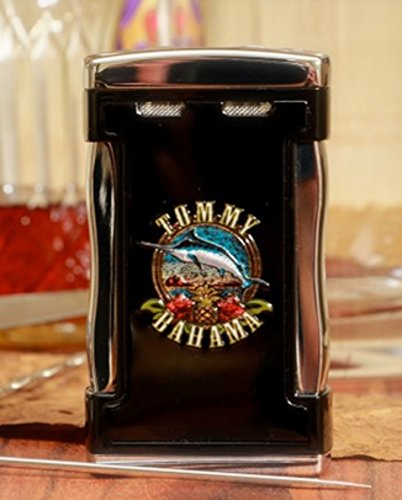 TOMMY BAHAMA TABLE TOP CIGAR LIGHTER - CIGAR BAND