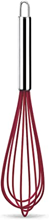 Batedor Manual Fio Silicone 30cm-vrm Brinox Vermelho