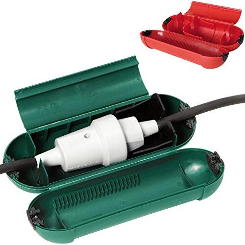 Sicherheits Stecker Schutzdose, für mehr Sicherheit bei Kabelsteckverbindungen: Für Einfachstecker Steckdose Schutz gegen Wasser Staub Trennen