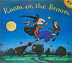 Top Ten Picture Books Chosen By My Three-Year-Old | Picture books for toddlers. Room on the Broom by Julia Donaldson.