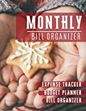 Monthly Bill Organizer: budget tools Bill planner Worksheet | Weekly Expense Tracker Bill Organizer Notebook For Business Planner or Personal Finance ... star design (Financial Planner Budget Book)