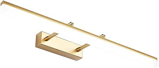 BJZP Led-spiegellamp, led-spiegellamp, 70 cm, 16 W, 180 ° instelbaar, badkamerlamp voor badkamer en spiegelkast, koudwit, ...