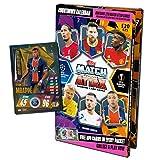 Topps Match Attax 2020/2021 - Calendario de Adviento de fútbol 2020, 120 tarjetas y tarjetas especiales de bonificación.