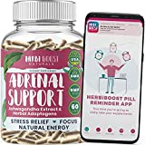 Best Adrenal Fatigue Supplements - Adrenal Support Supplements & Cortisol Manager [1300mg] Natural Review