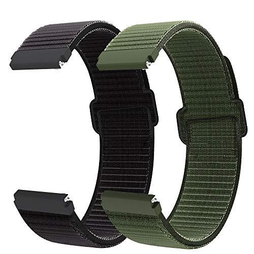 Younsea Cinturino Compatibile con il Cinturino Huawei Watch GT 2 Pro , il Cinturino di Ricambio in Nylon da 22 mm è Adatto per Galaxy Watch 45mm / Gear S3 Classic / Frontier/Galaxy Watch da 46 mm