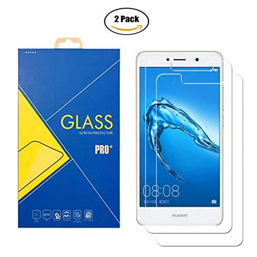 iLeaf [2 paquetes] Protector de cristal templado para Huawei Y5 2018 / Y5 Prime 2018 / Honor 7S / DRA-L21 / DRA-LX3 – Pantalla antigolpes y antiarañazos, cristal templado compatible con Huawei Y5 2018