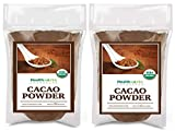 Healthworks Cacao Powder (80 Ounces / 5 Pound) Cocoa Chocolate Substitute | Certified Organic | Sugar-Free, Keto, Vegan & Non-GMO | Peruvian Bean/Nut Origin | Antioxidant Superfood