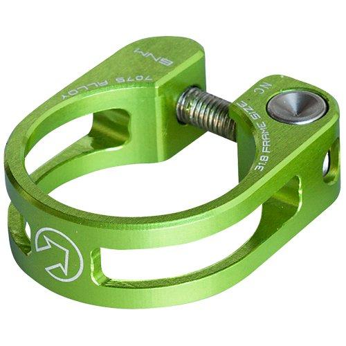 Pro Sattelstützen Sattelklemme grün 31,8GRÜN, ALU, Lightweight Design